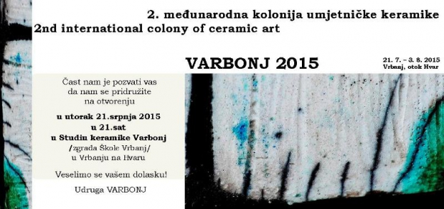 2nd International Colony of Ceramic Art