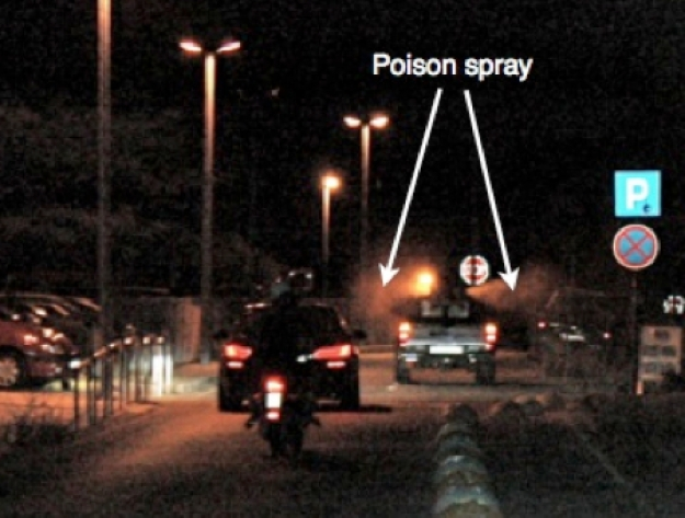 Poison Spraying, July 2018